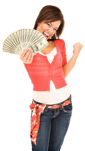 happy-money-woman